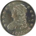 Bust Quarter 1827